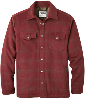 Mountain Khakis Men's Sportsman's Shirt Jacket, Wine, hi-res