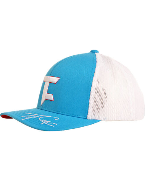 Tuf Cooper Performance Sky Blue Mesh Logo Cap , Light Blue, hi-res