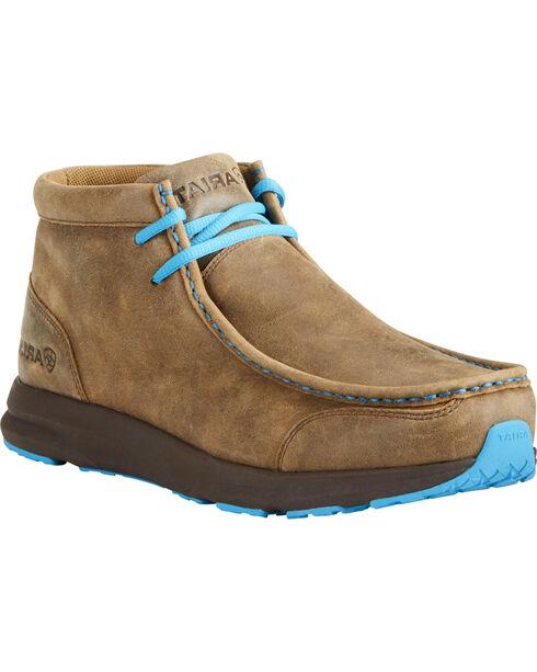 Ariat Men's Brown Spitfire Shoes, Dark Brown, hi-res