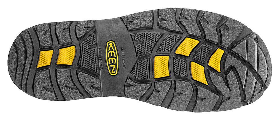 Keen Men's Dallas Wellington Waterproof Boots - Steel Toe, Dark Brown, hi-res