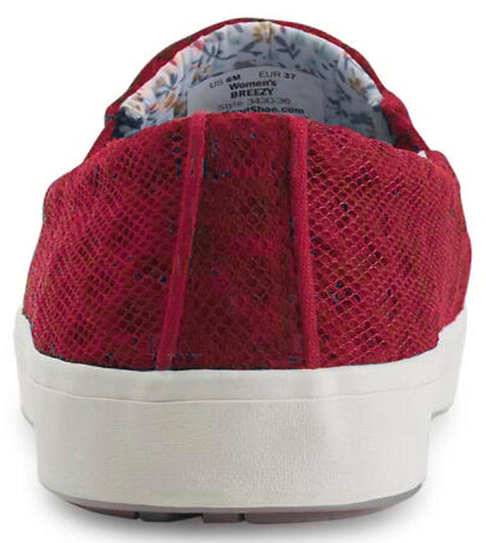 Eastland Women's Burgundy Breezy Slip-On Sneakers , Burgundy, hi-res