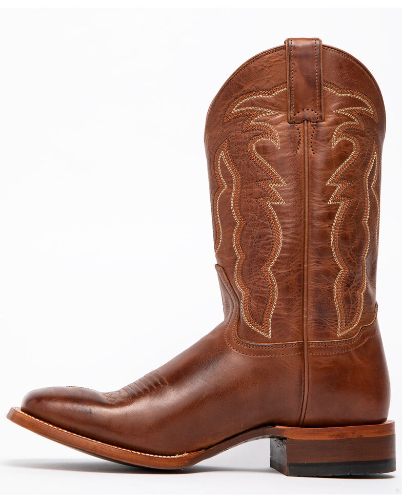 Cody James Men's Diesel Western Boots - Wide Square Toe, Brown, hi-res