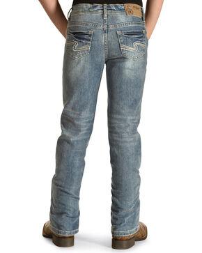Silver Toddler Girls' Tammy Light Wash Jeans - Boot Cut, Indigo, hi-res