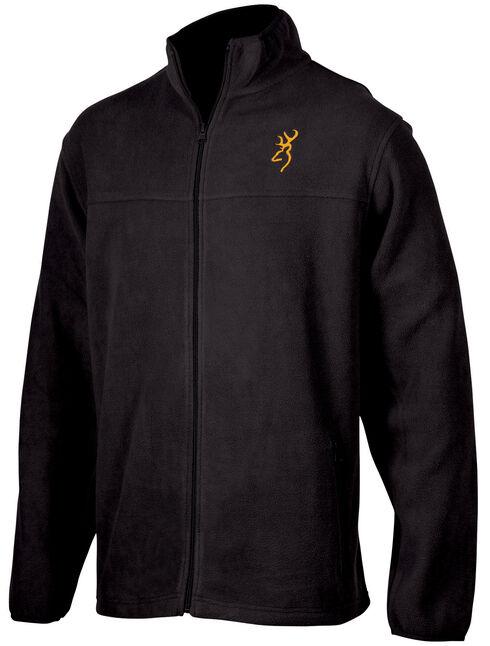 Browning Men's Black Laramie Fleece Jacket , Black, hi-res