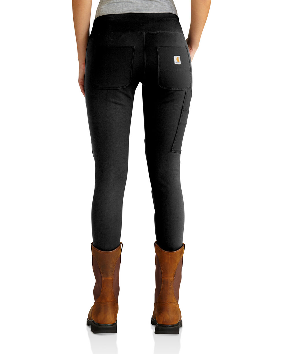 Carhartt Women's Black Force Utility Knit Legging , Black, hi-res