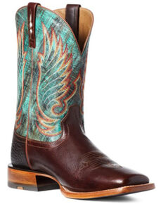Ariat Men's Cyclone Western Boots - Wide Square Toe, Brown, hi-res