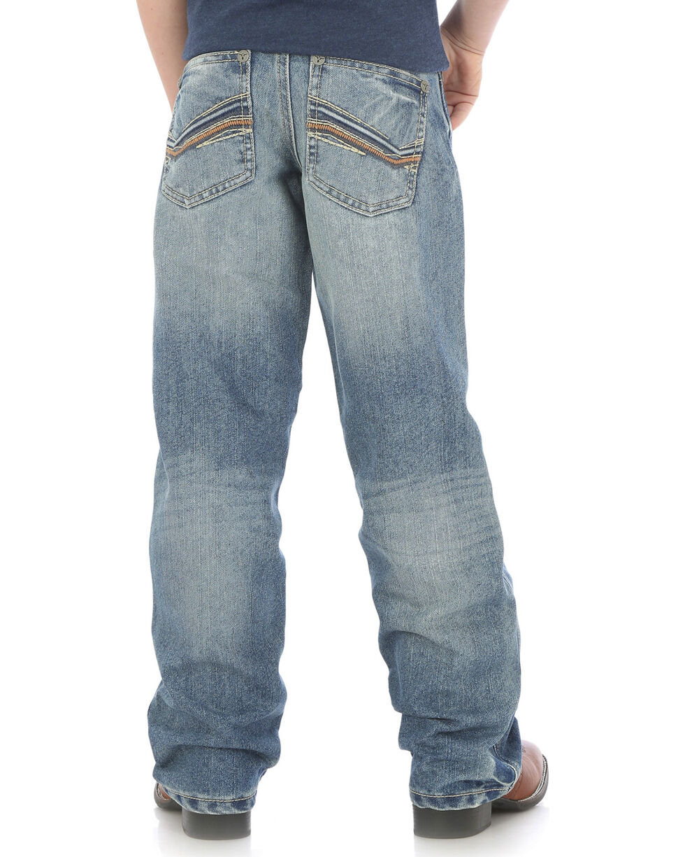 Wrangler Boys' (4-7) 20X No. 33 Relaxed Fit Jeans - Straight Leg , Indigo, hi-res