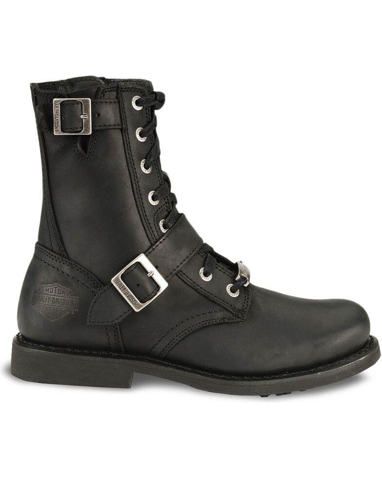Harley Davidson Ranger Lace-Up Buckle Boots, Black, hi-res