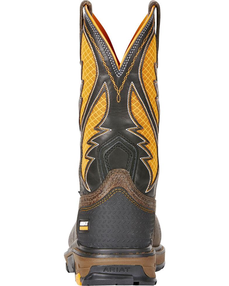 75041ff07fa Ariat Men's Brown Intrepid VentTEK Work Boots - Composite Toe