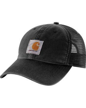 Carhartt Buffalo Sandstone Mesh Back Cap, Black, hi-res