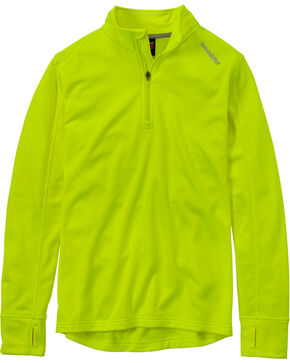 Timberland PRO Men's Green Understory Fleece Top , Yellow, hi-res
