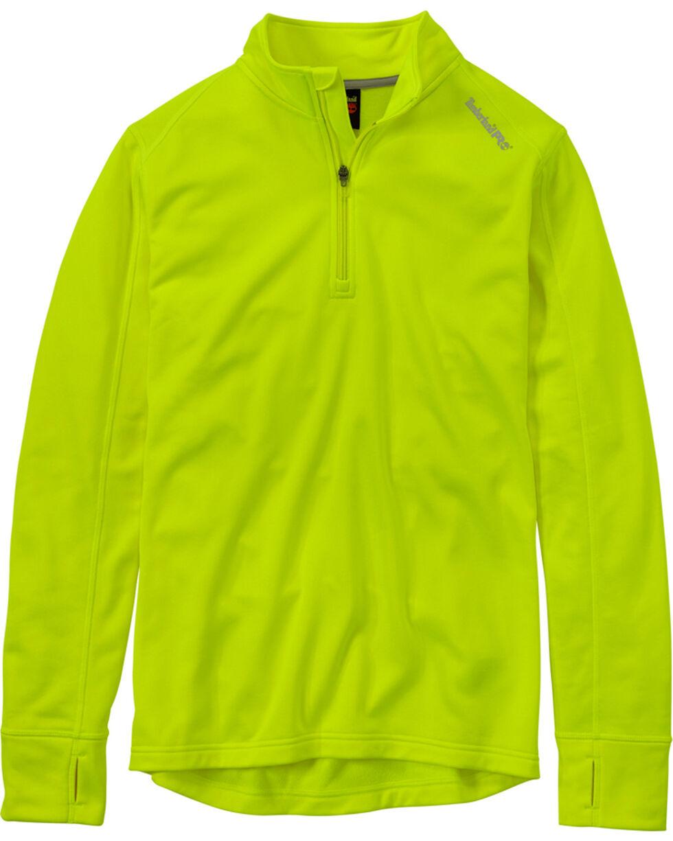 Timberland PRO Men's Green Understory Fleece Top , Yellow, hi-res