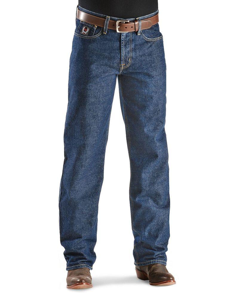 Cinch ® Men's White Label Fire Resistant Work Bootcut Jeans, Denim, hi-res
