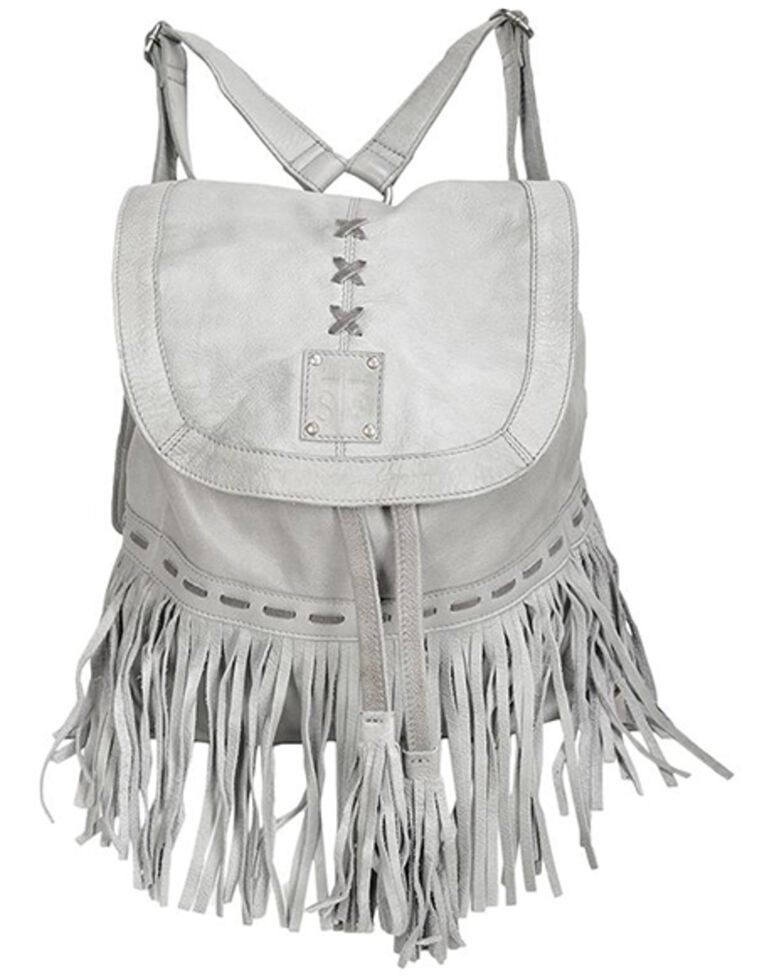 STS Ranchwear Women's Free Spirit Backpack, Grey, hi-res