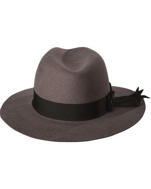 Stetson Women's Grey Cat's Meow Wool Hat , Grey, hi-res