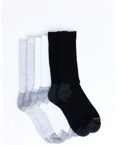 Merrell Men's Repreve Crew Sock - 3 Pack, Multi, hi-res