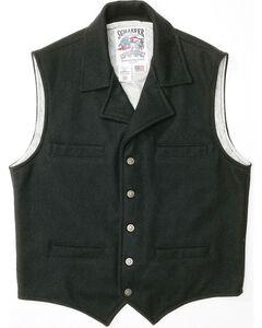 Schaefer Cattle Baron Wool Blend Vest, Black, hi-res