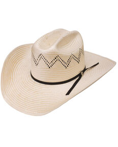 HOOey by Resistol Men's Riley Cowboy Hat, Natural, hi-res