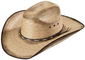 Jason Aldean Kids' Amarillo Sky Jr. Palm Leaf Cowboy Hat, Tan, hi-res