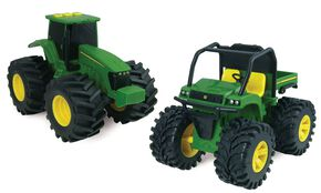"John Deere Lights & Sounds 6"" Monster Treads XUV Gator Vehicle, Green, hi-res"