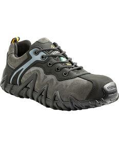 Terra Men's Black Venom Low Work Shoes - Composite Toe, Black, hi-res