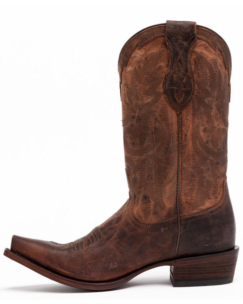 Cody James Men's Whitehall Western Boots - Snip Toe, Brown, hi-res