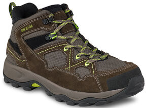 Irish Setter by Red Wing Shoes Men's Afton EH Hiker Work Boots - Steel Toe, Brown, hi-res