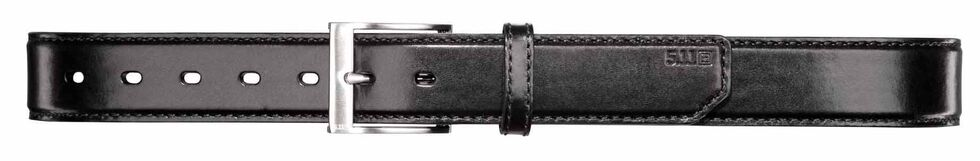 5.11 Tactical Leather Casual Belt, Black, hi-res