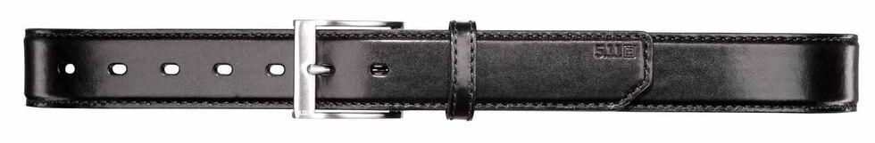 5.11 Tactical Leather Casual Belt, Black, hi-res