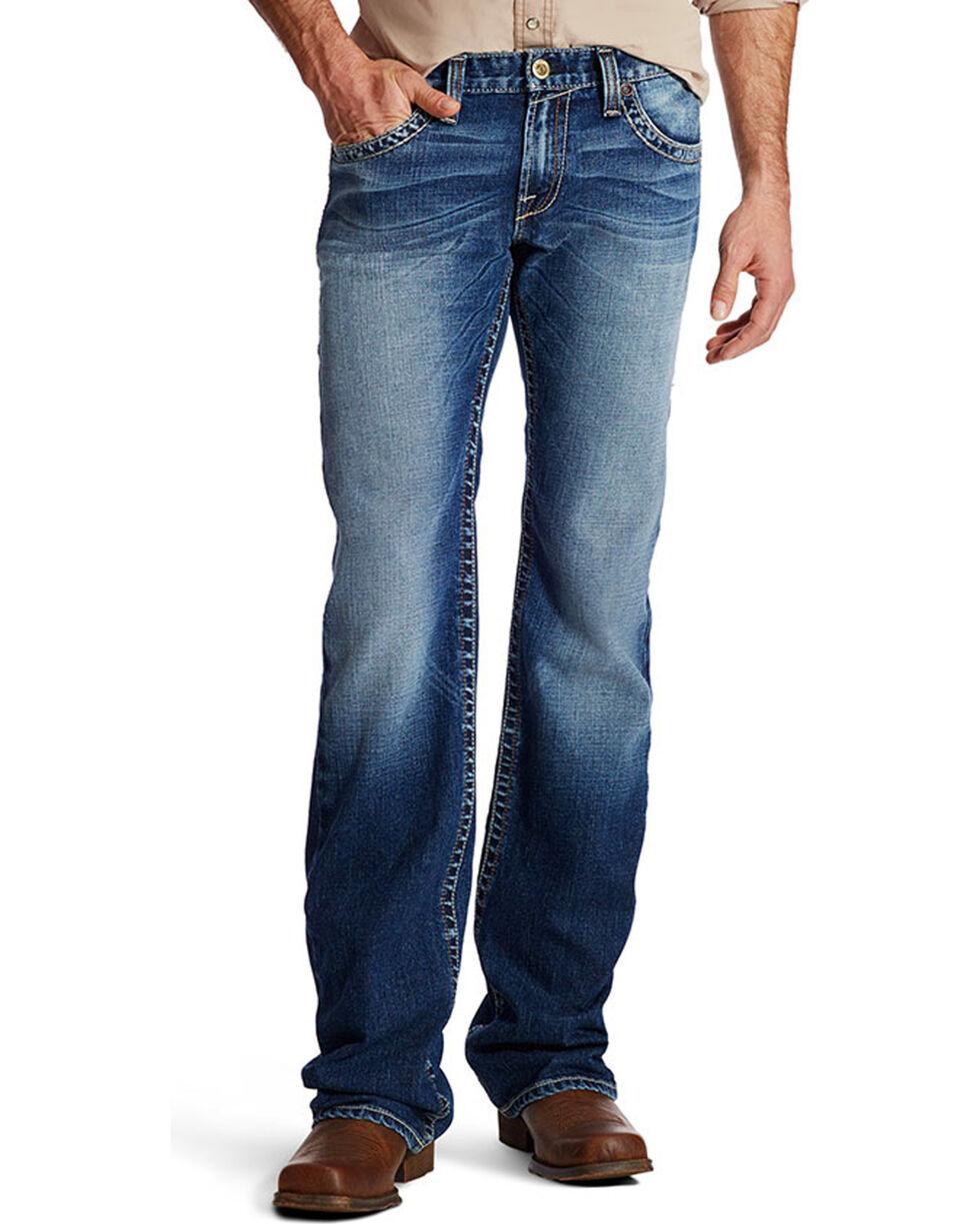 Ariat Men's M7 Sawtooth Boot Cut Jeans, , hi-res