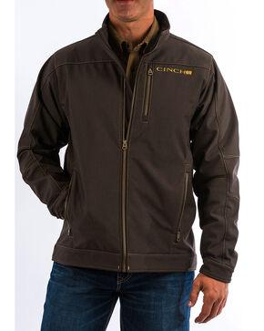 Cinch Men's Solid Brown Bonded Jacket, Brown, hi-res