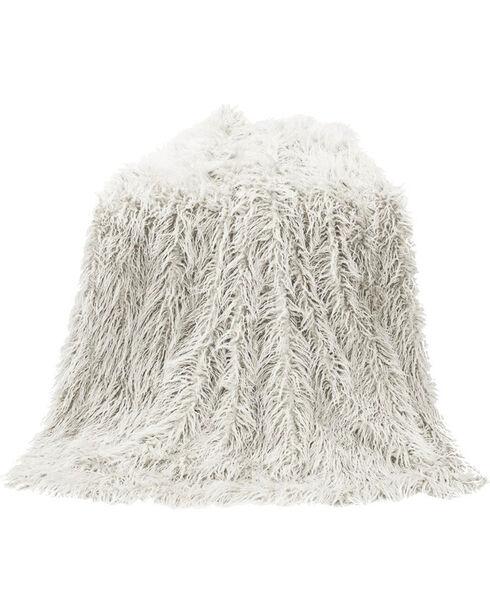 HiEnd Accents Mongolian Faux Fur Throw, , hi-res