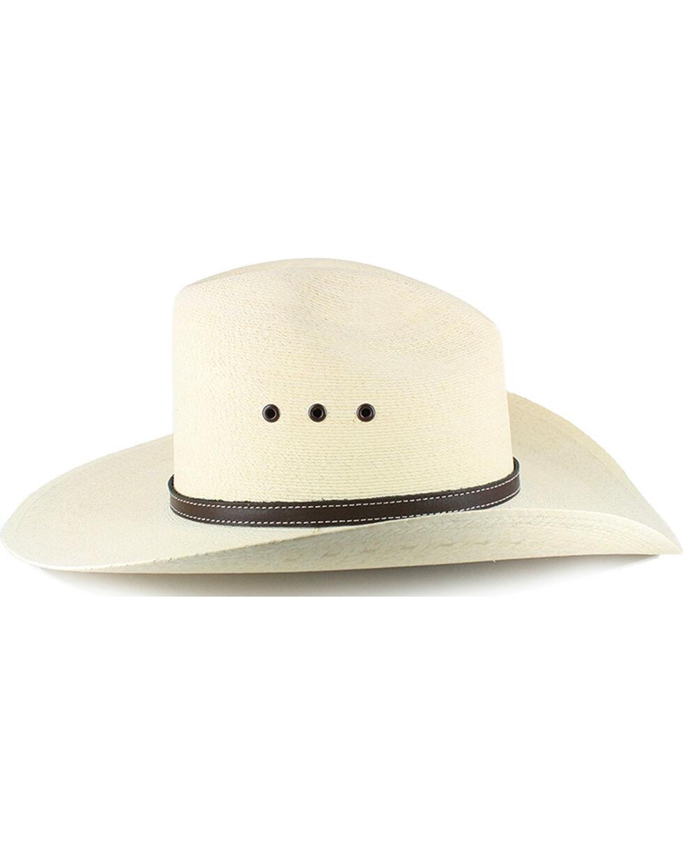 Atwood Men's Gus 7X Palm Leaf Cowboy Hat, Natural, hi-res