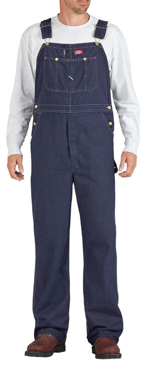 Dickies Denim Work Overalls - Big & Tall, Indigo, hi-res