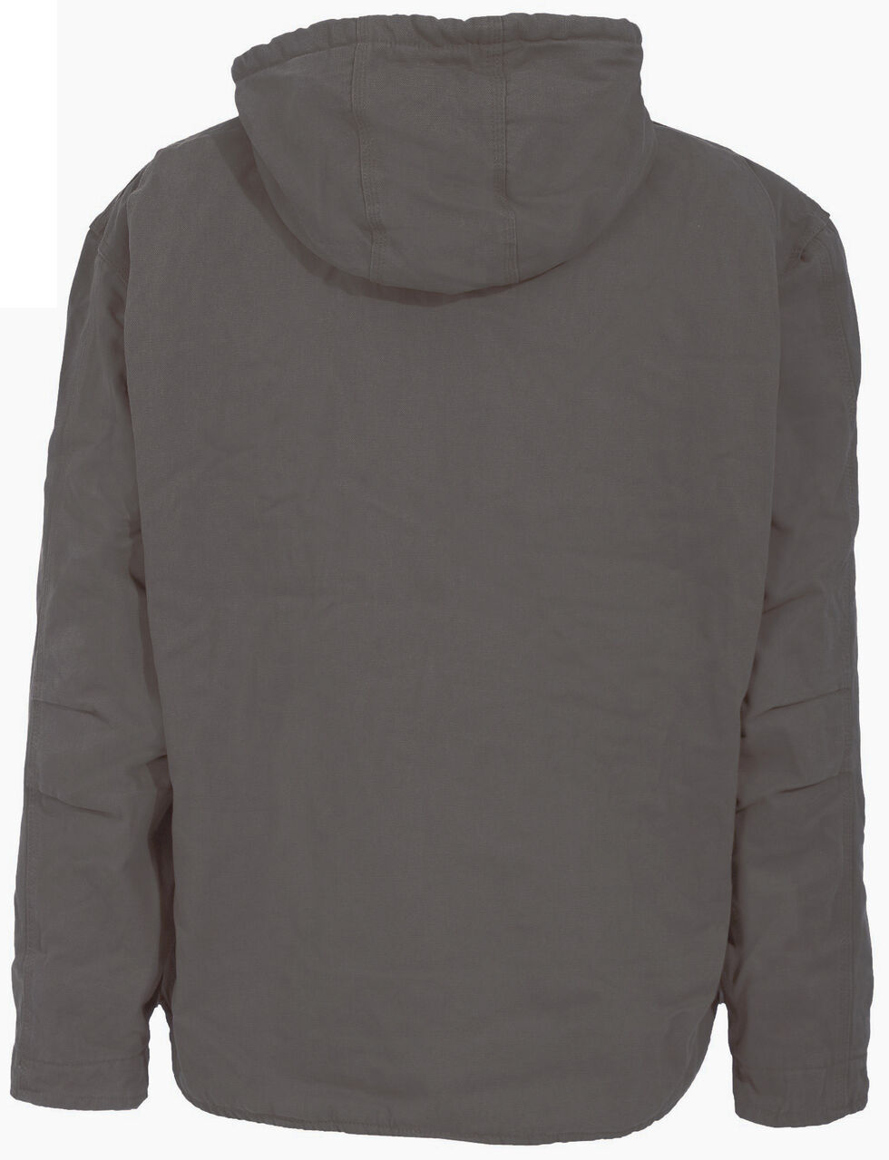 Berne Washed Hooded Work Coat - 3XL and 4XL, Grey, hi-res