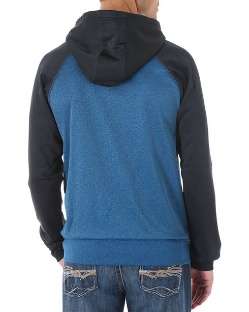 Wrangler 20X Men's Two Toned Pullover Hoodie, Blue, hi-res