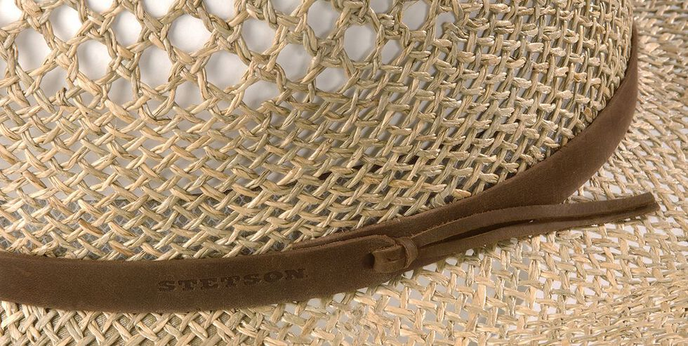 Stetson Dove Mountain UV Protection Seagrass Straw Hat, , hi-res