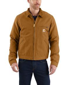 Carhartt Men's Duck Detroit Work Jacket , Brown, hi-res