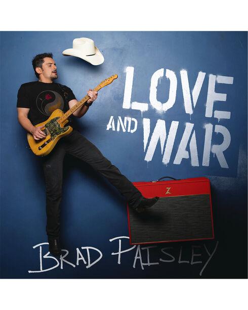 Brad Paisley:  Love and War, No Color, hi-res