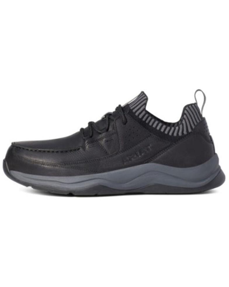 Ariat Men's Working Mile Work Boots - Composite Toe, Black, hi-res