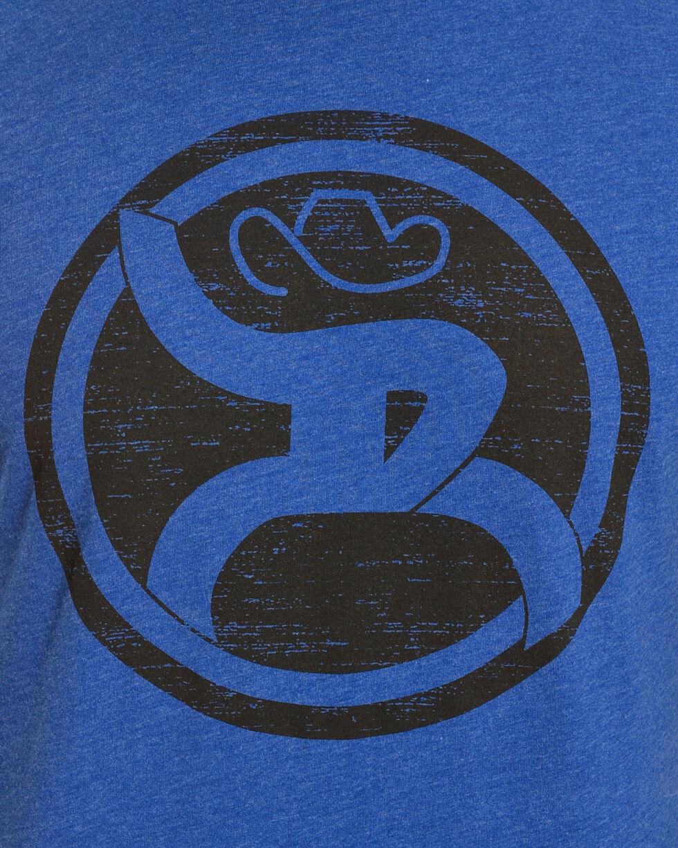 HOOey Men's Royal Blue Roughy Logo Tee , Royal Blue, hi-res