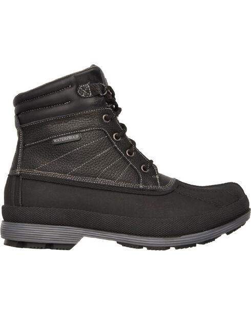 Skechers Men's Robard Slip Resistant Work Boots - Round Toe, Black, hi-res