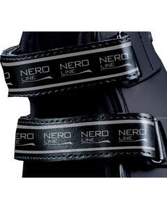 Veredus Black Pro Jump Xtra Replacement Velcro Straps, Black, hi-res