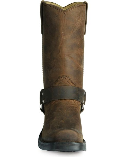 Durango Women's Harness Cowgirl Boots - Square Toe, Brown, hi-res