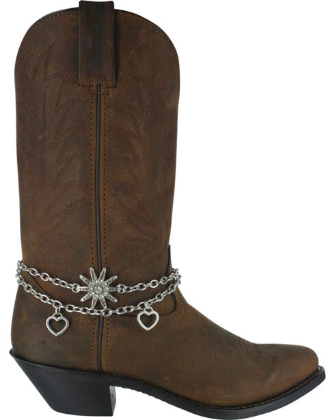 Shyanne® Women's Spur and Hearts Boot Bracelet, , hi-res