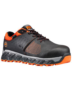 Timberland Pro Men's Ridgework Waterproof Work Shoes - Composite Toe, Black, hi-res
