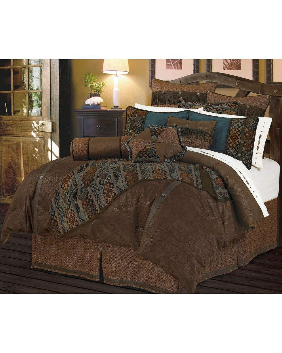 HiEnd Accents Del Rio Queen Bedding Set, Multi, hi-res