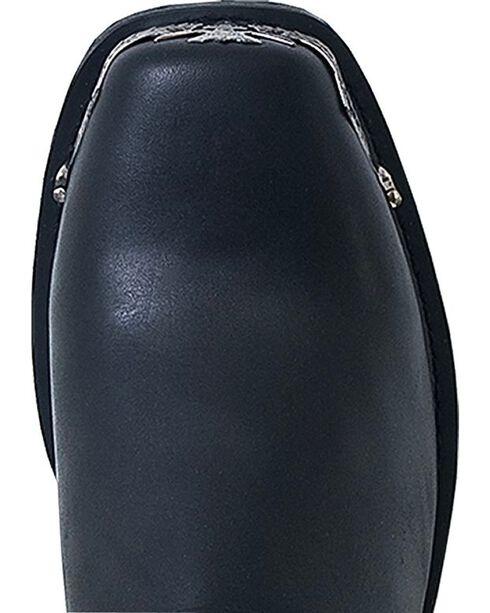 Dingo Eagle Harness Boots - Square Toe, Black, hi-res