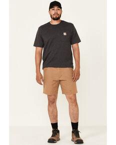 Wrangler ATG Men's All-Terrain Tiger Brown Pork Chop Utility Shorts , Tan, hi-res