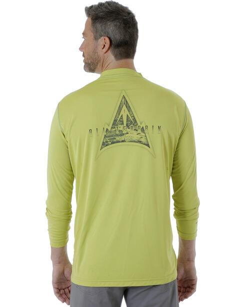 Wrangler Men's Bright Green Rugged Wear All-Terrain T-Shirt , Bright Green, hi-res